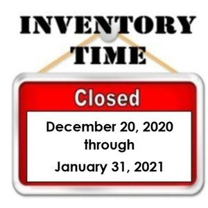  *INVENTORY   Please Read* 